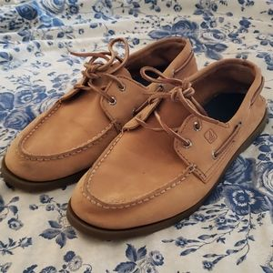 Sperry Top-Sider boat shoes- 6.5 boys/8.5ish wom